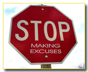 Having the Faith Not to Make Excuses