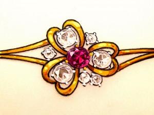 ruby & diamonds