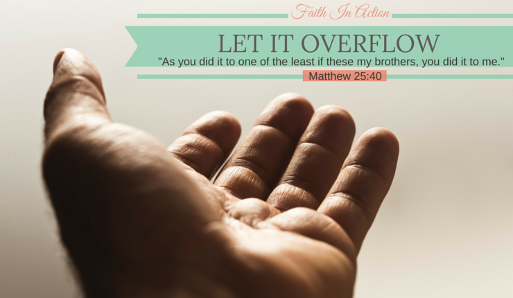 Let It Overflow: Blessing Jar