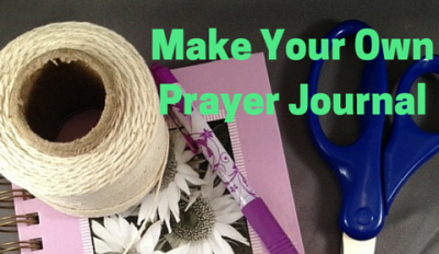 Prayer Journal Tutorial