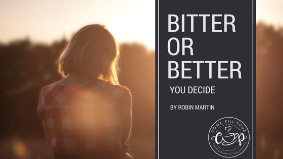 Bitter or Better (You Decide)
