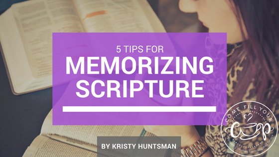 5 Tips for Memorizing Scripture