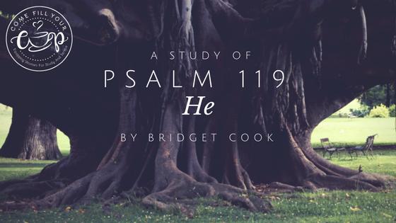 Psalm 119: He