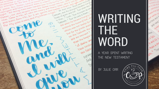 Writing the Word