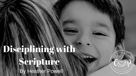 Disciplining with Scriptures