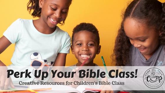 Perk Up Your Bible Class Through Movement